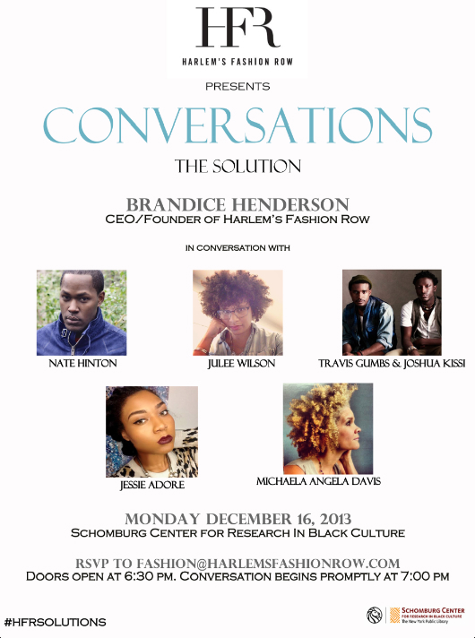 HFR Conversations Flyer