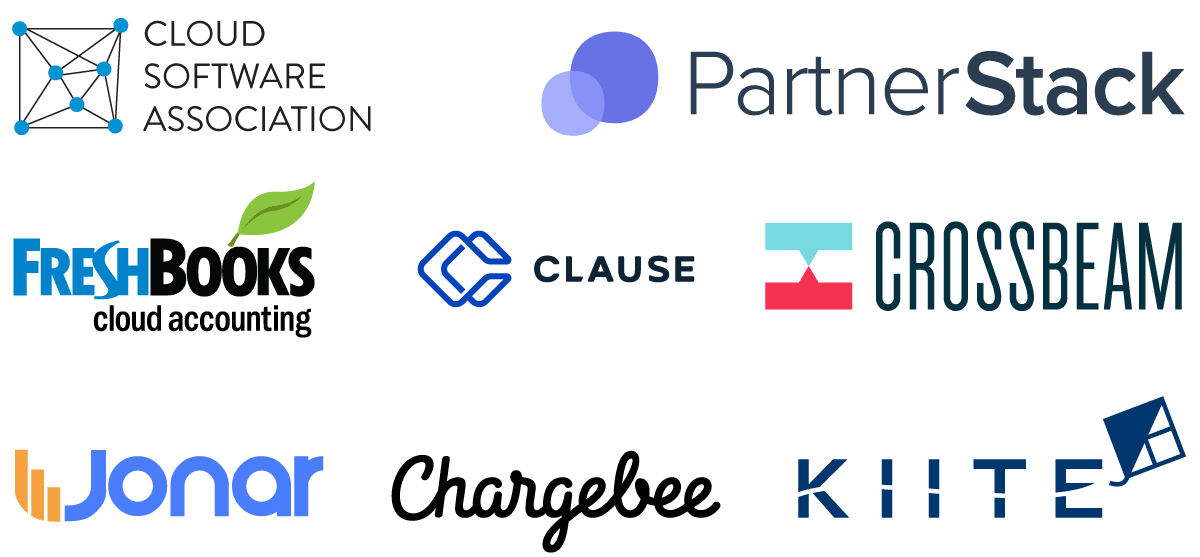 SaaS Connect cocktails in Toronto during Collision sponsors