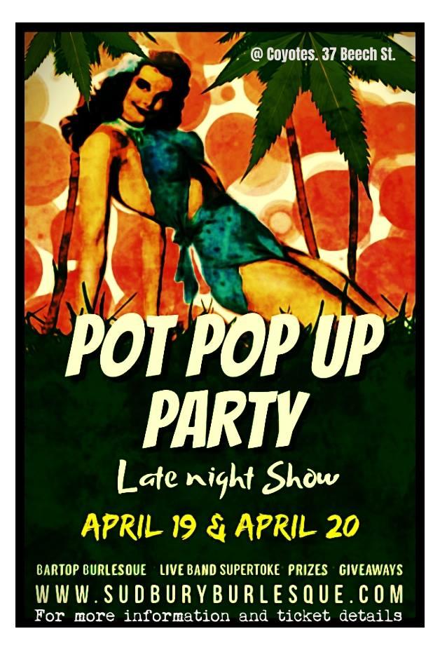 Pot Pop Up