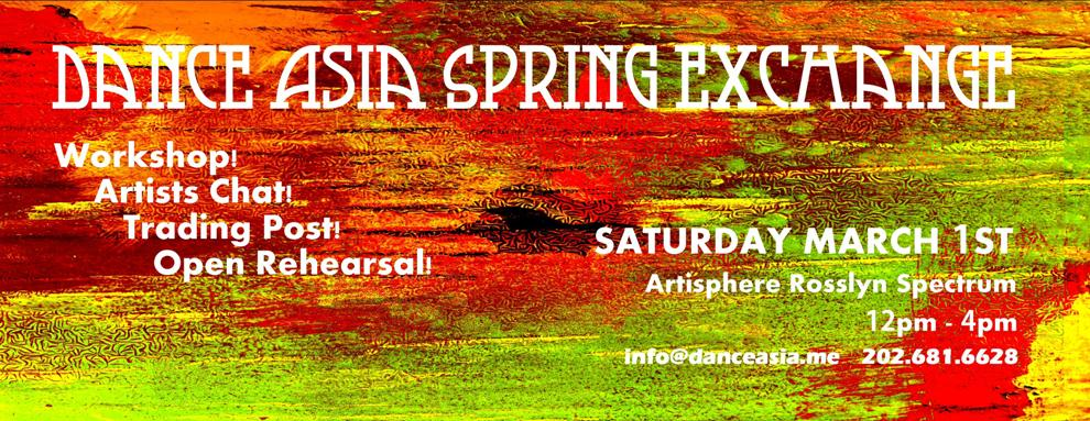 Dance Asia Spring Exchange