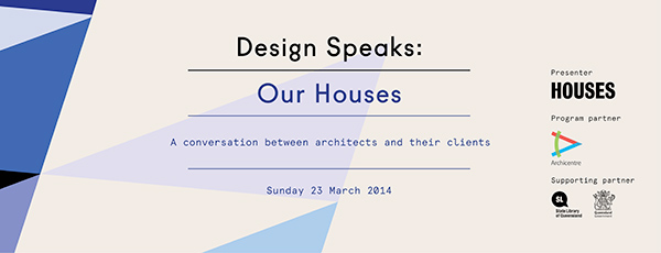Our Houses - A conversation between architects and their clients