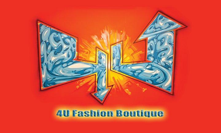4U Urban Fashion Boutique Logo