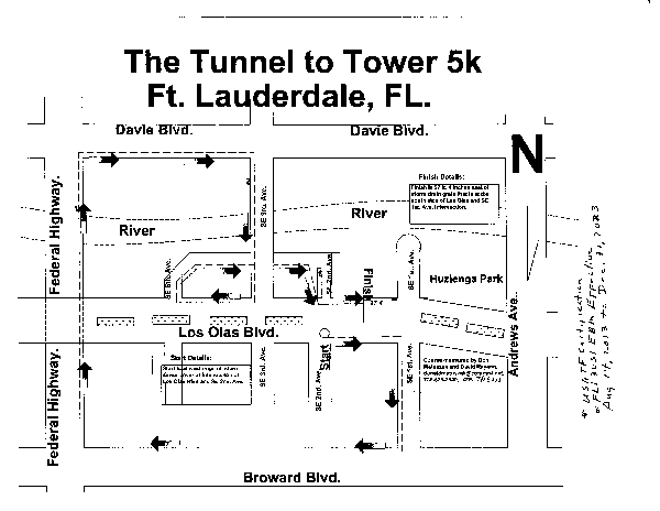 Fort Lauderdale Map