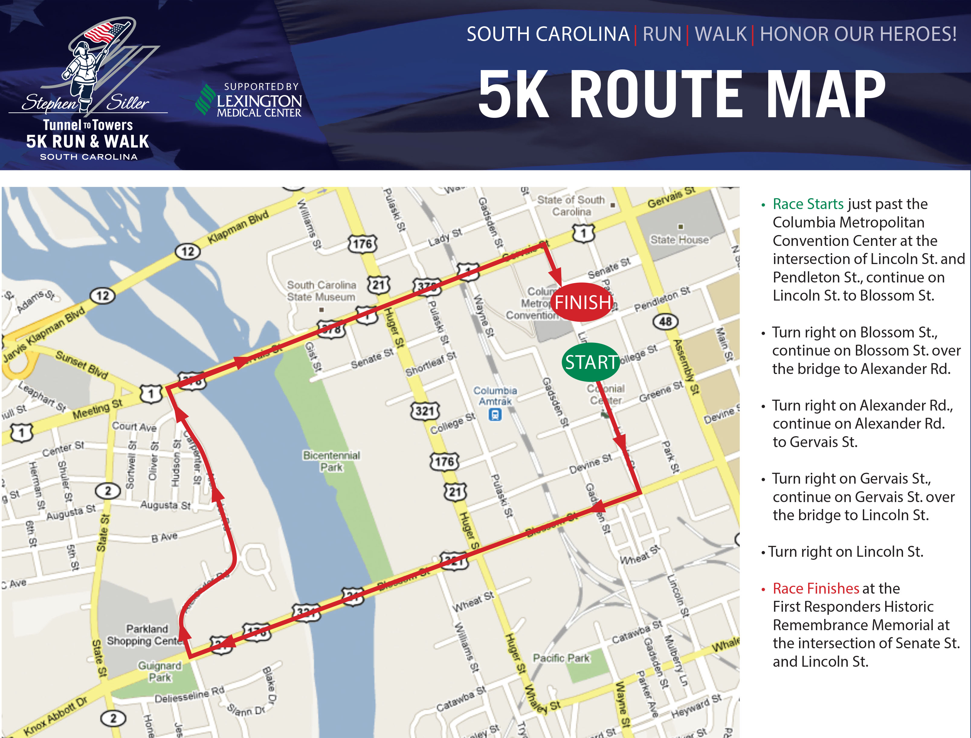 2015 Tunnel To Towers 5k Run Amp Walk Columbia Sc