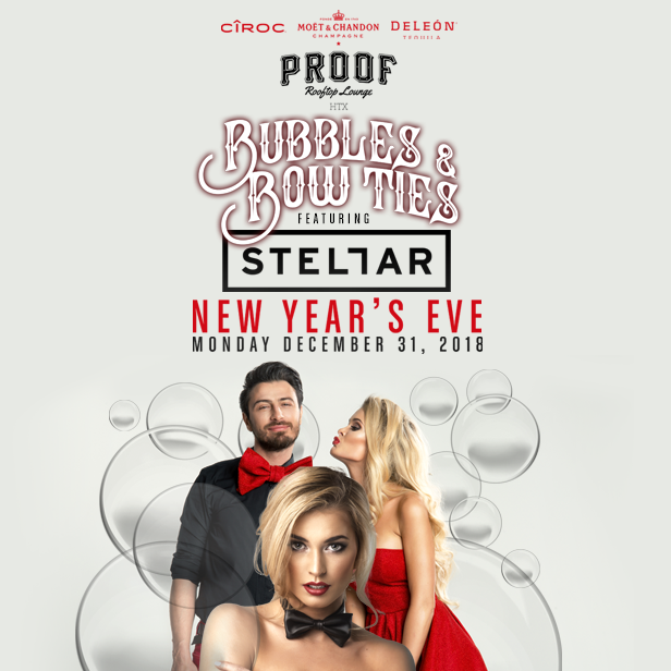 New Years Eve, Houston, Proof Rooftop Lounge