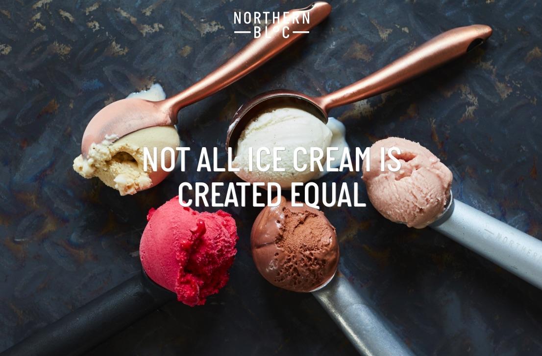 Northern Bloc Ice Cream Logo
