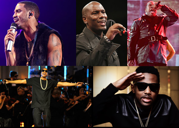 JAY Z, TREY SONGZ, FABOLOUS AND MORE RANDY B