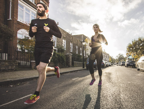 natural running london