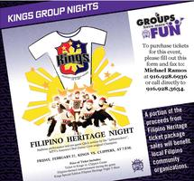 Sacramento Kings Filipino Heritage Night