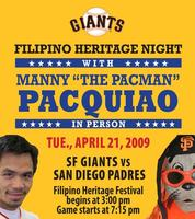 Giants Filipino Heritage Night 3