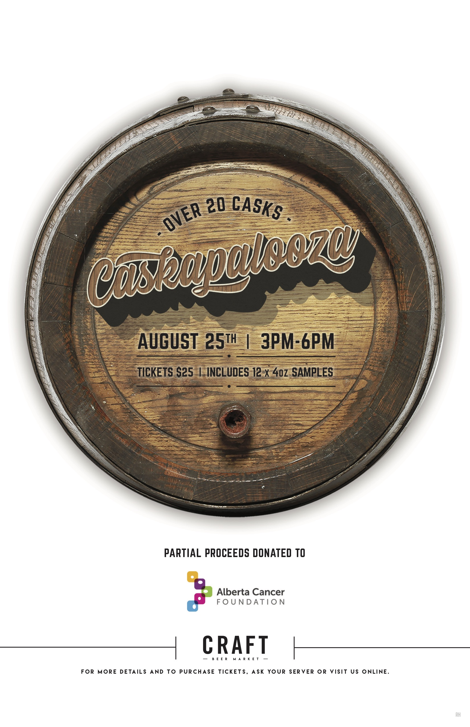 Caskapalooza 2019 Beer Sampling Event