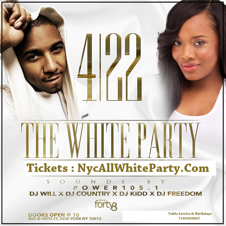 how to plan an all white party