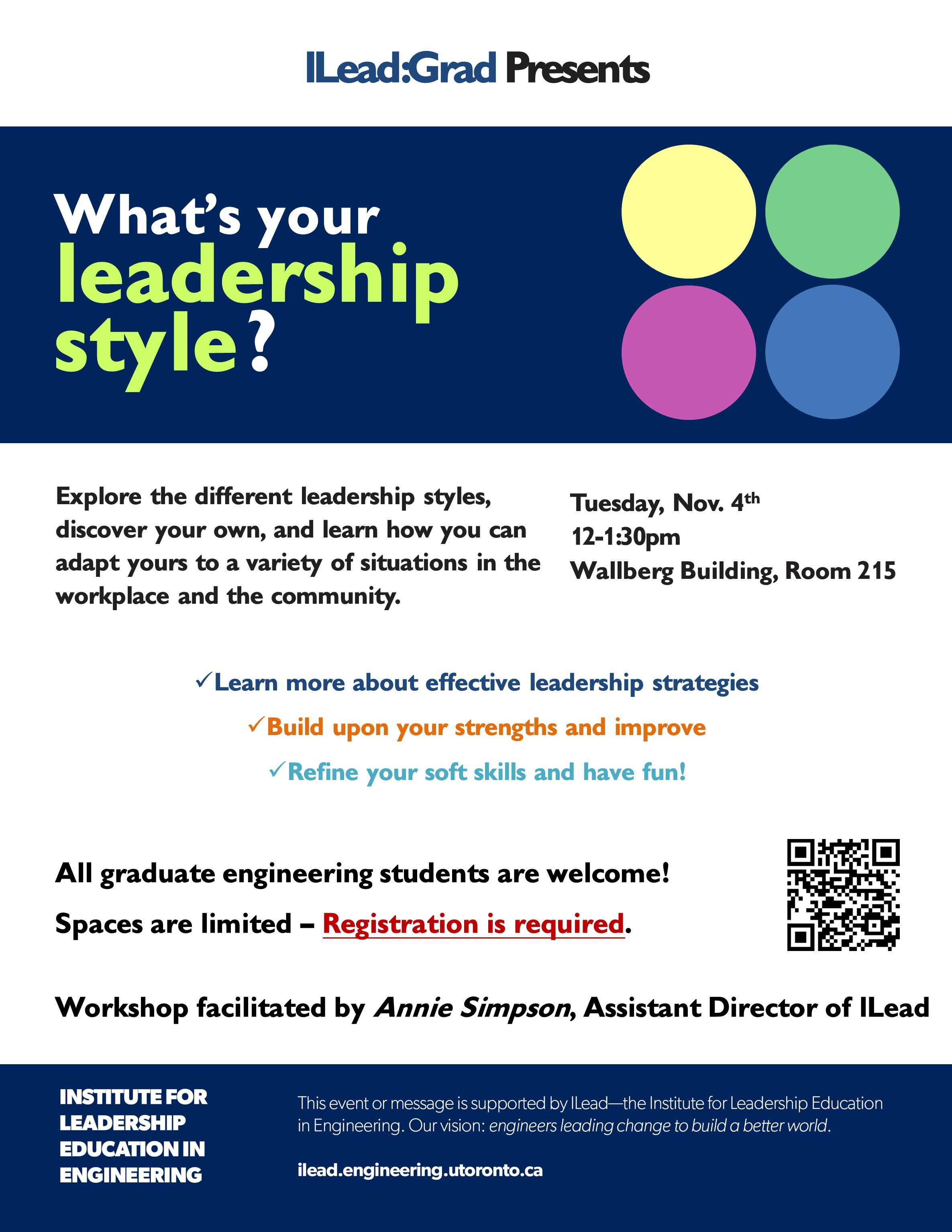 Leadership Style Workshop