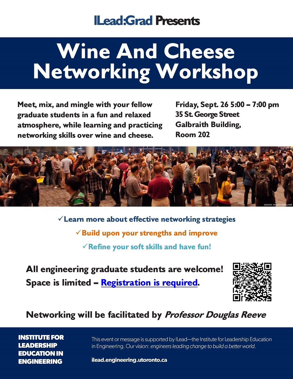 Wine and Cheese Networking Workshop