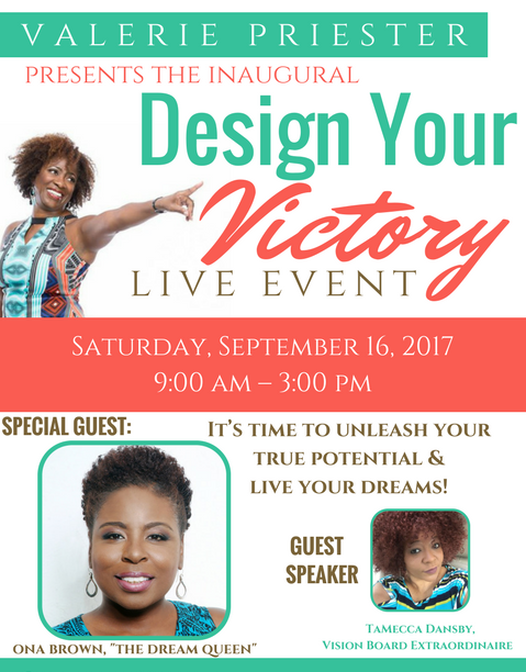 Design Your Victory Live Event