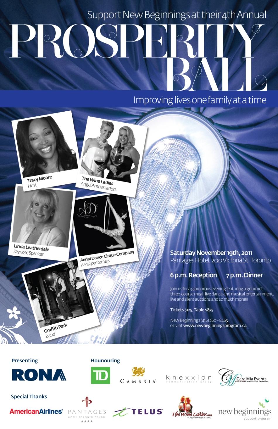 Prosperity Ball 2011 Poster