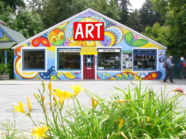 Santa Cruz Mountain Art Center