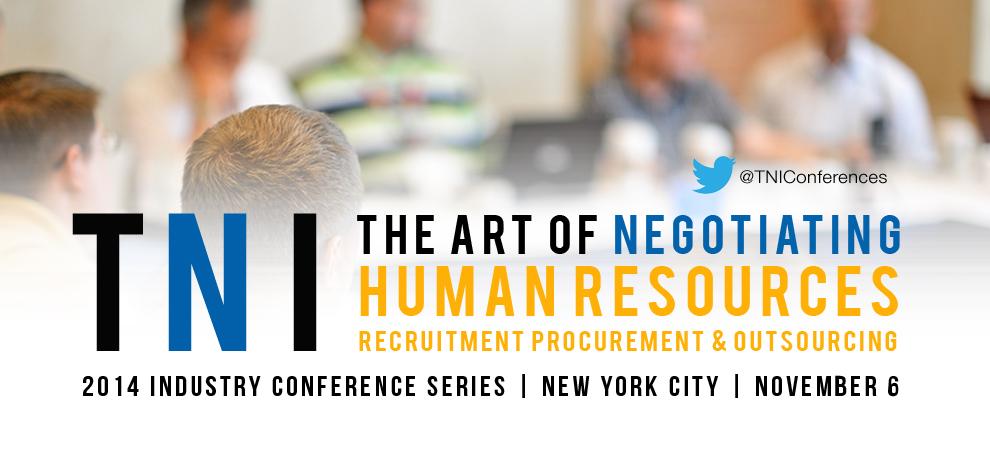 The Art of Negotiating Human Resources Confernece