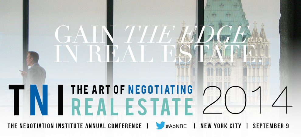 The Art of Negotiating Real Estate