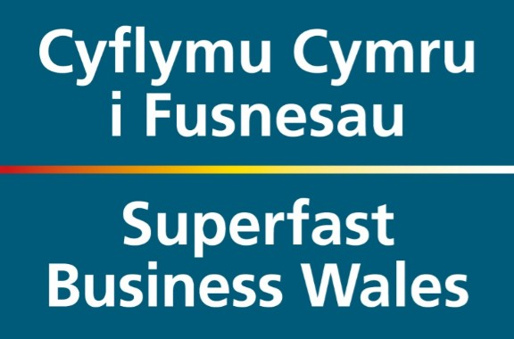 Superfast Business Wales logo