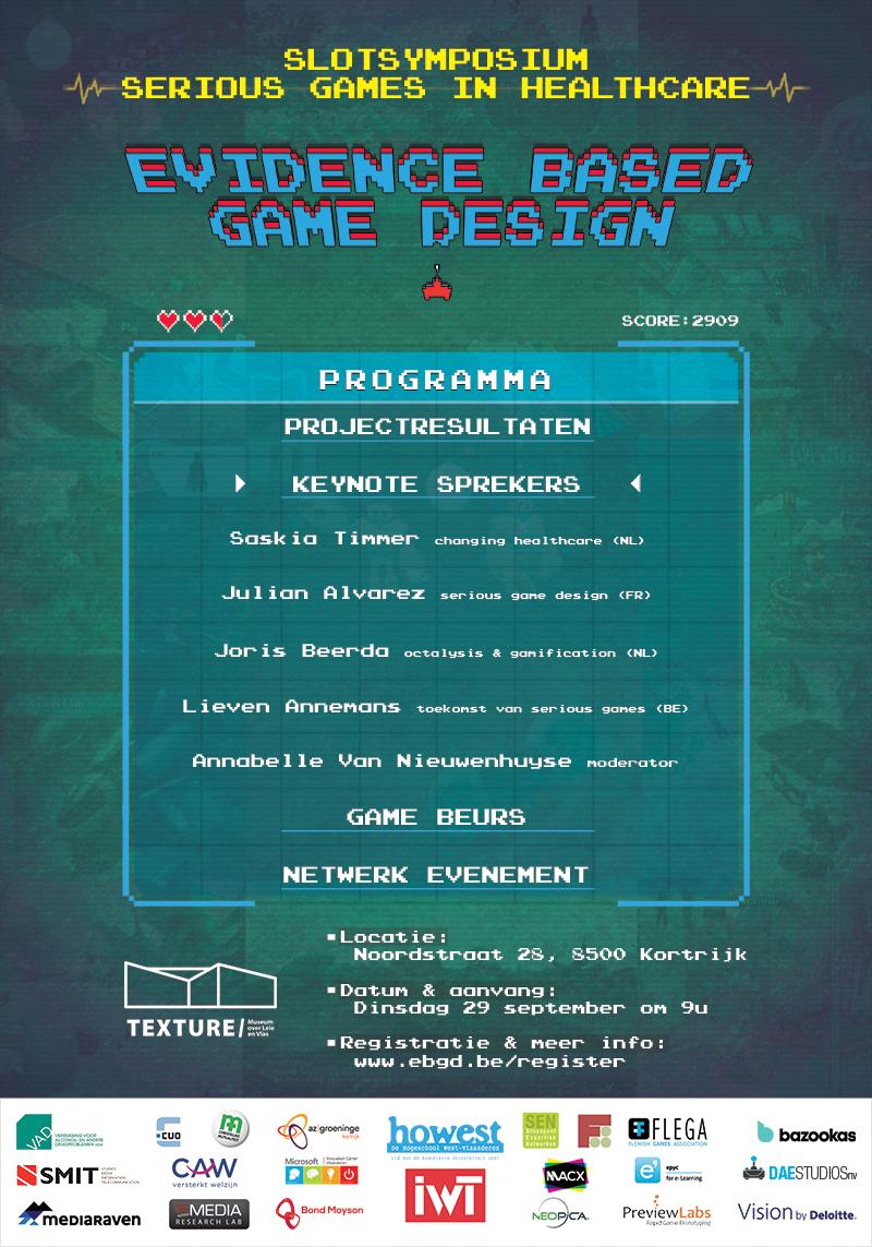 Poster Slotsymposium Evidence Based Game Design