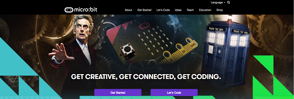 Microbit website