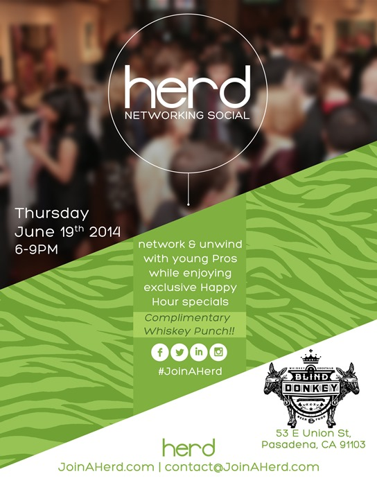 Herd | Networking Social @ The Blind Donkey