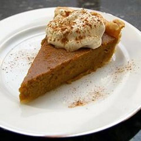 Bourbon Sweet Potato Pie with Bourbon-Vanilla Whipped Cream