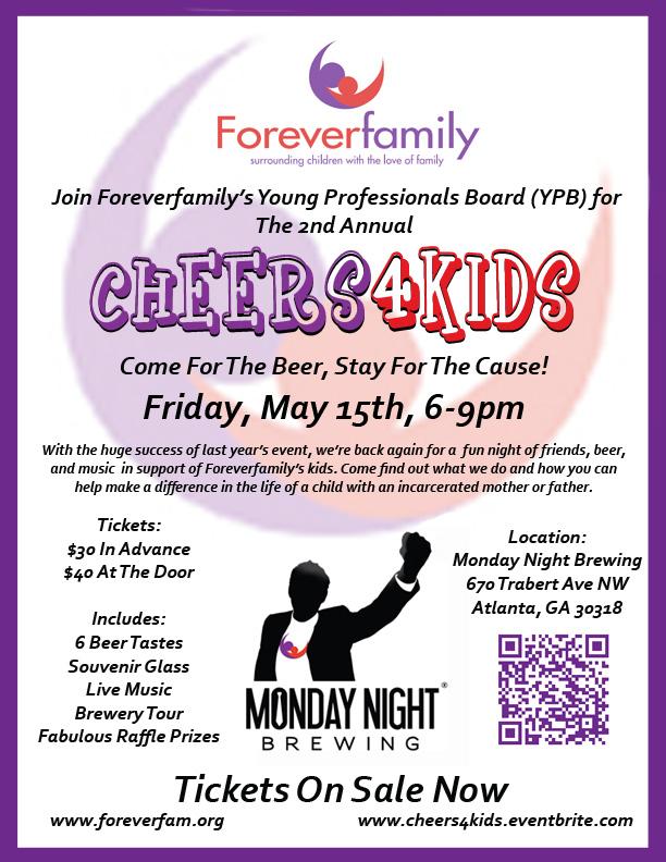 Cheers4Kids Event Flyer