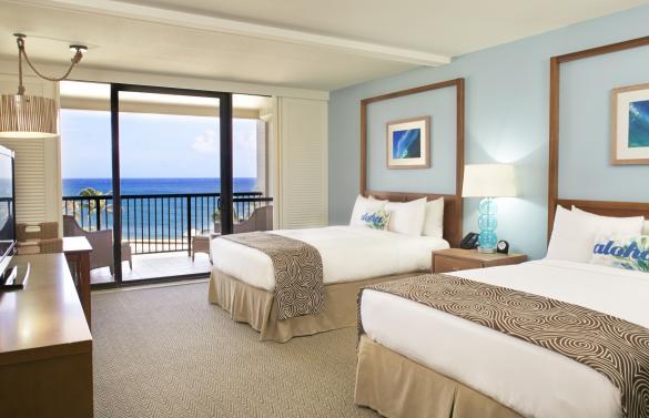 Deluxe Ocean View Double Queen Room