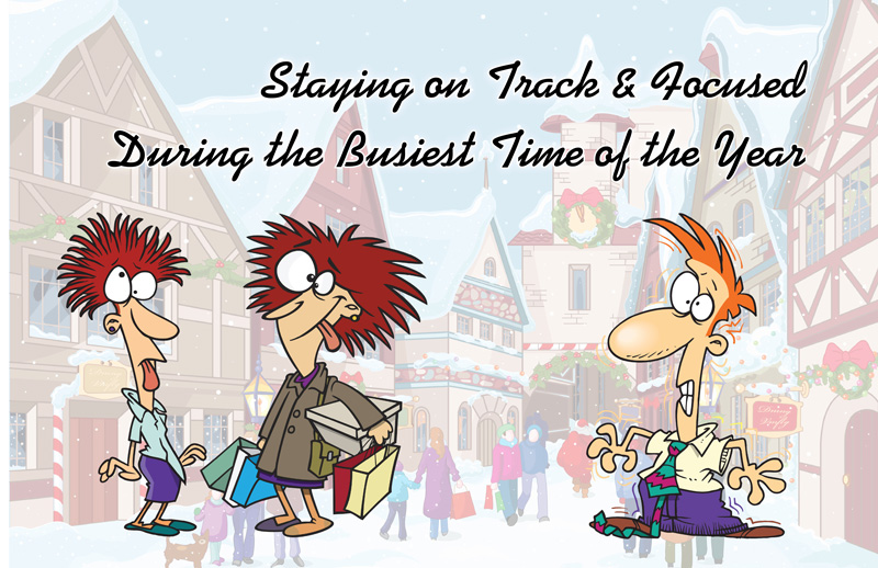 Staying on track banner