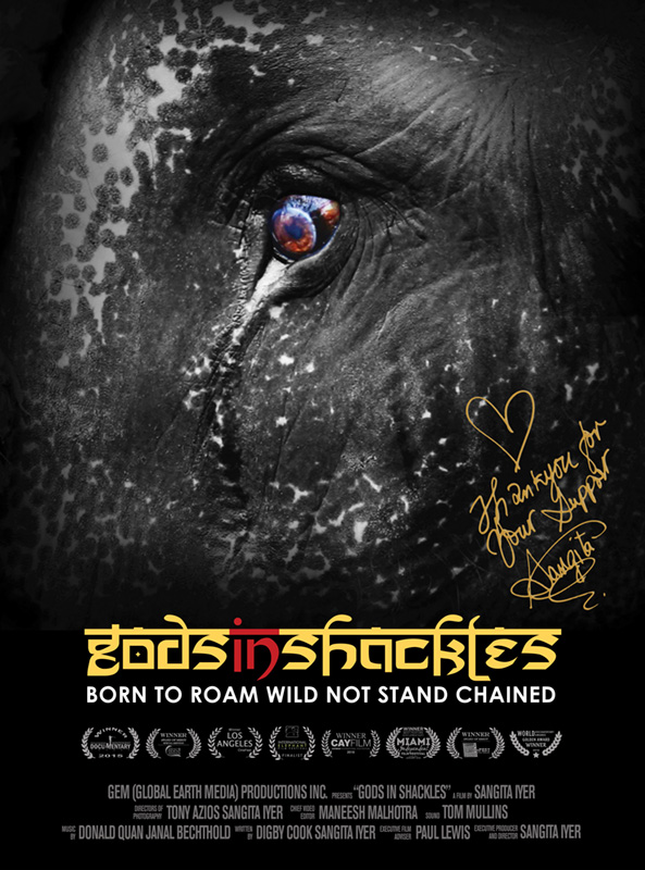 Gods in Shackles Official Poster