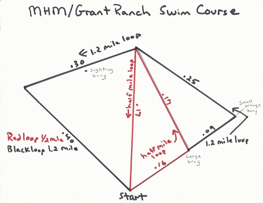 2014 Grant Ranch Buoy Layout