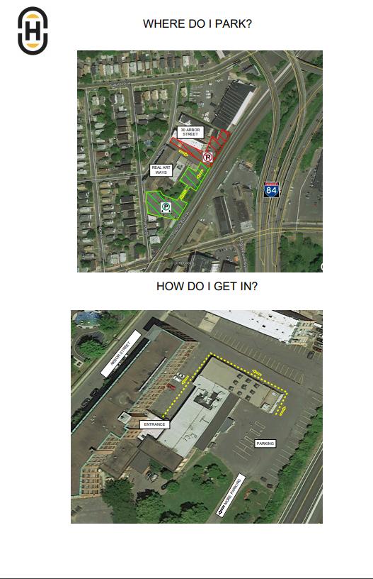 Parking/Entrance Info