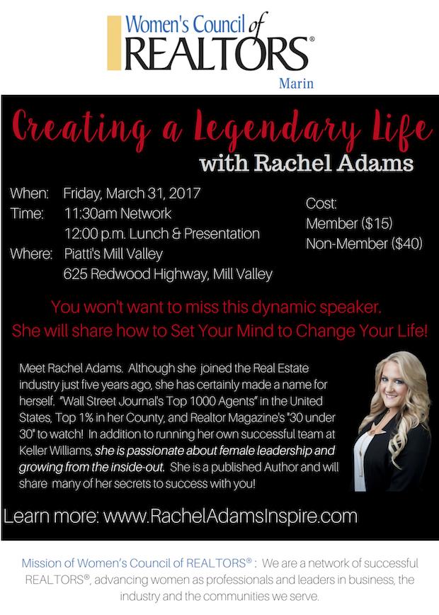 Invite Rachel Adams Realtor