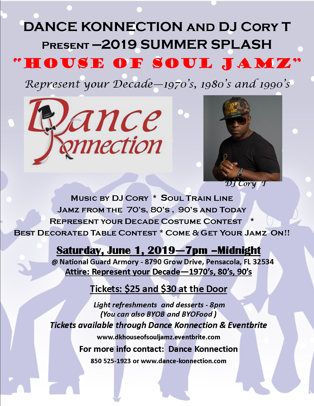 House of Soul Jamz Flyer