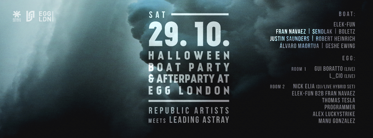 Republic Artists Records Boat Party