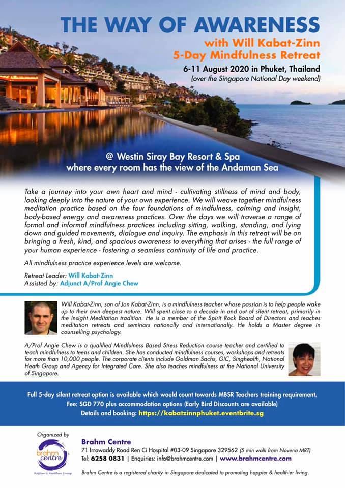 Will Kabat-Zinn Mindfulness Retreat