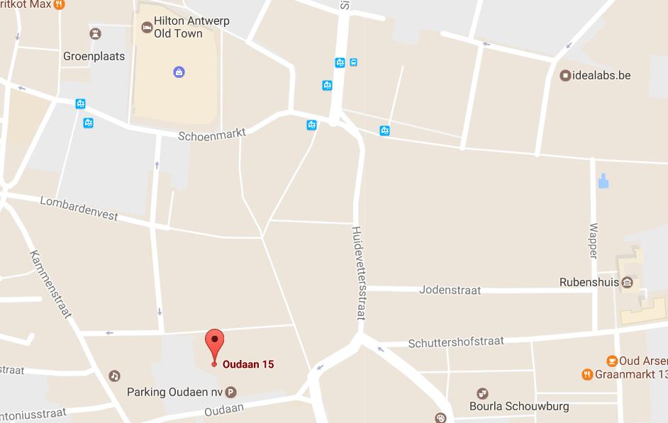 map nieuwe locaatie