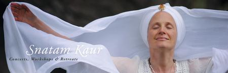 2013 Sacred Chant Concerts and Workshop with SNATAM KAUR