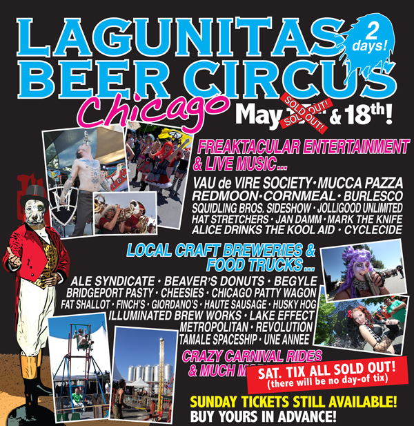lagunitas chicago beer circus 2014