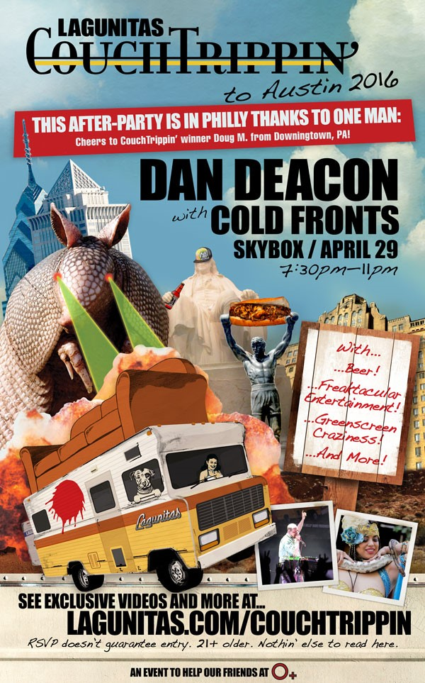 CouchTrippin with Dan Deacon