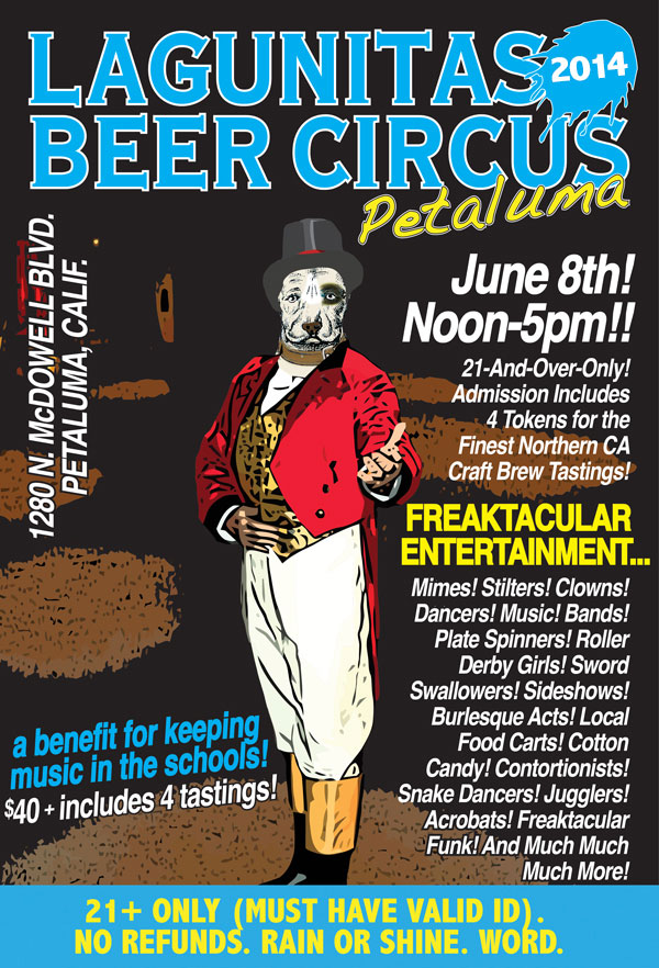 Lagunitas Petaluma Beer Circus