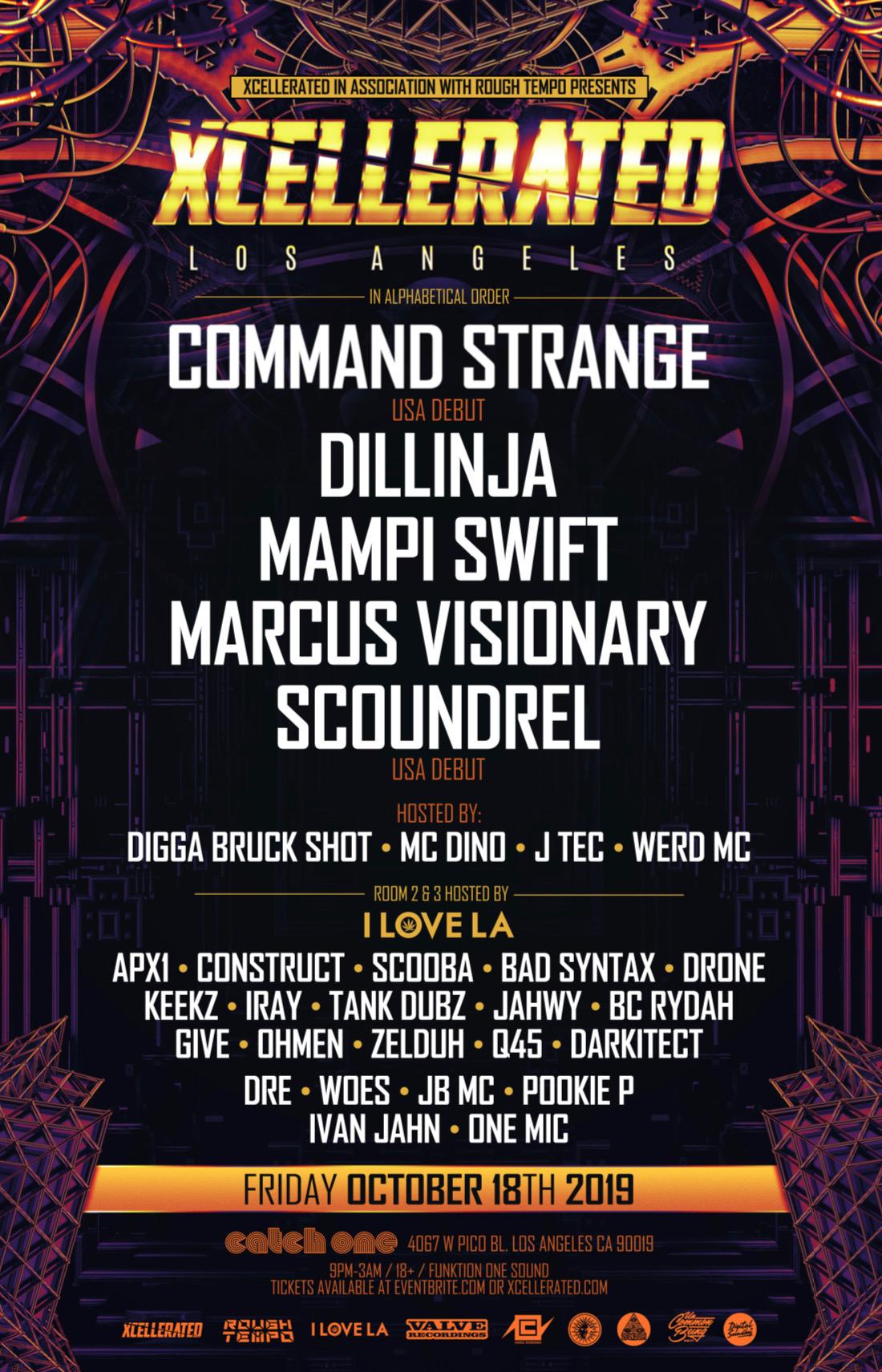 Marcus Visionary, Mampi Swift – Los Angeles – Oct 18 | edmtrain