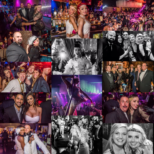New Year's  Eve 2018 The Great Gatsby at Eve Orlando