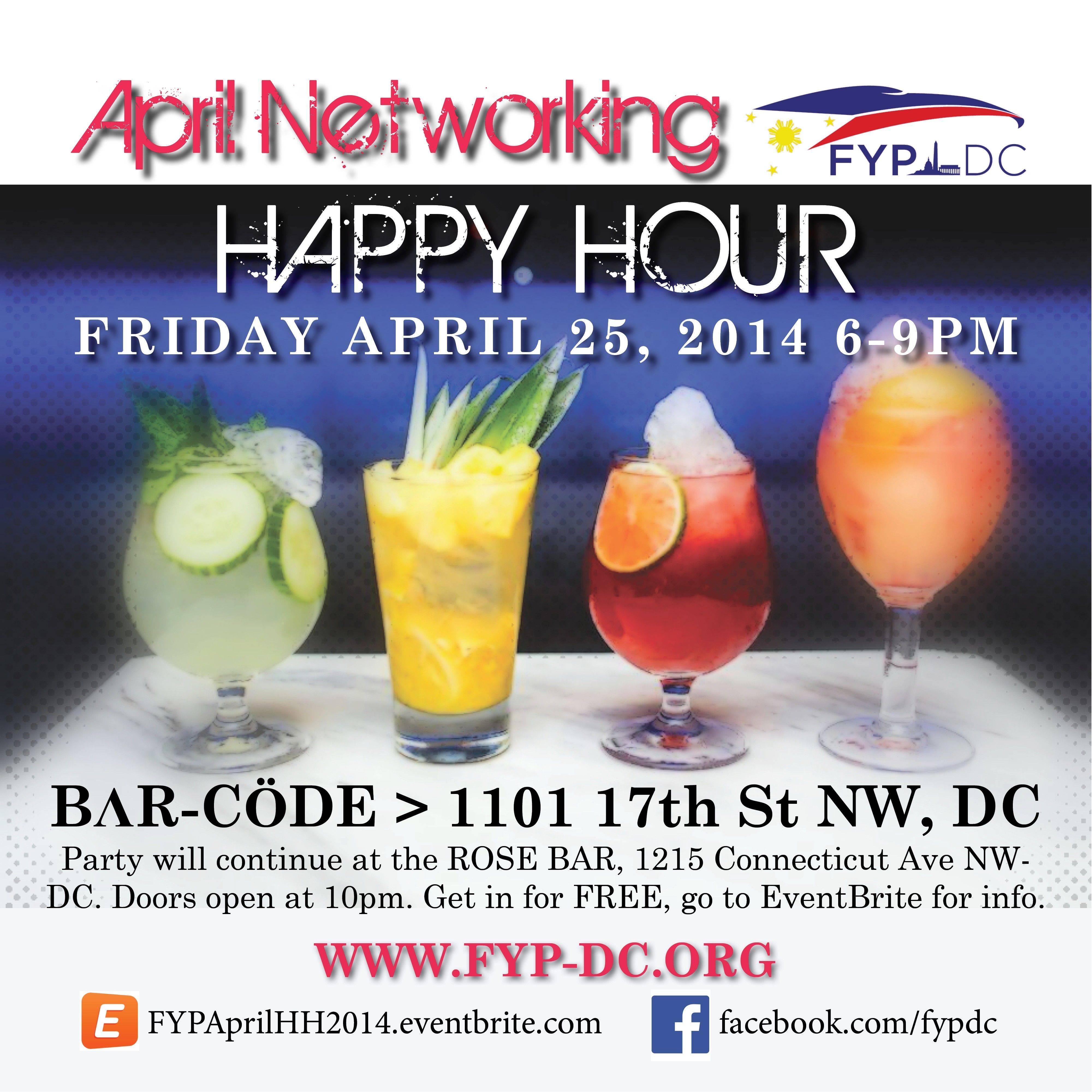 FYPDC April 2014 Happy Hour