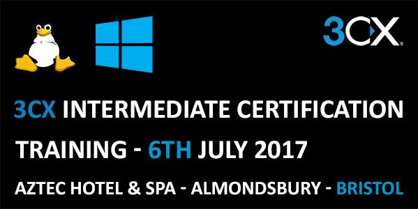 3CX Intermediate Certification Training