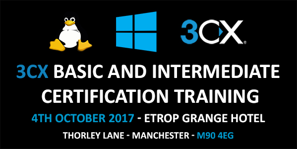 3CX Basic and Intermediate Certification Training