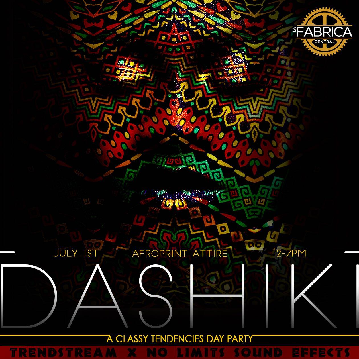 Dashiki Day Party