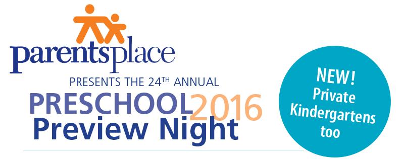 Preschool Preview Night -- Private Kindergartens too